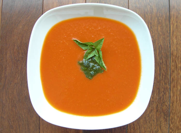 Tomato & Roasted Red Pepper soup 🍅