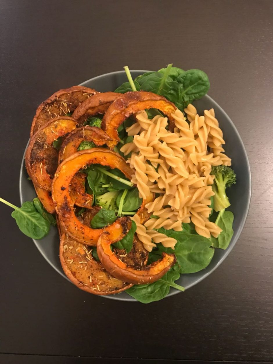 Caramelized roasted pumpkin 🎃with spices