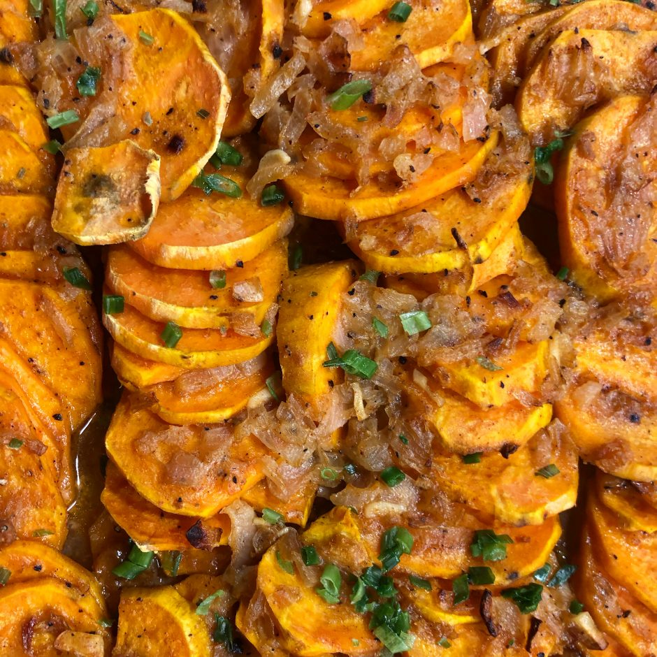 Creamy Sweet Potato Bake